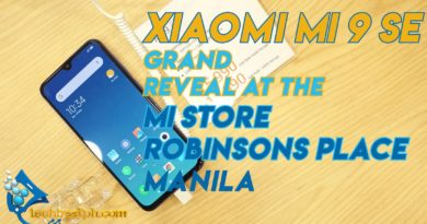 Xiaomi MI 9 SE Grand Reveal and Mi Store Opening