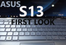 ASUS Zenbook S13 Launch and First look