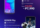 As much as Php 4,000 Savings on  HONOR phones starting June 28!