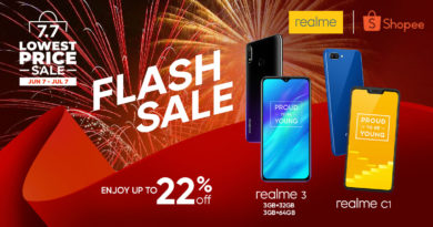 Realme and Shopee offer up to 22% discount on 7.7 Lowest Price Sale