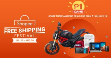 Shopee Raffles off a Motorcycle for only ₱1