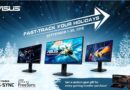 Fast-track your holidays with ASUS fast, G-Sync Compatible gaming monitors