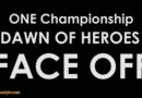 One: Dawn of Heroes Fighters Face-off