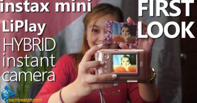 Fujifilm Instax Mini LiPlay Unboxing