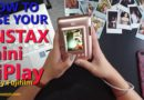 Messages embedded in Photos? Fujifilm Instax Mini LiPlay