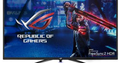 ASUS ROG Strix XG438Q, the Largest 4K UHD FreeSync 2 HDR Gaming Monitor