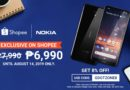 Nokia 3.2 for only ₱6990, available exclusively on Shopee