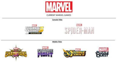 Disney/Marvel unveils new awesome Mobile Games