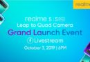Realme 5 and 5 Pro Set to Launch tonight