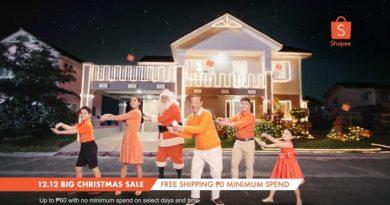 Shopee Unveils New Christmas Jingle on Shopee 11.11 Big Christmas TV Special