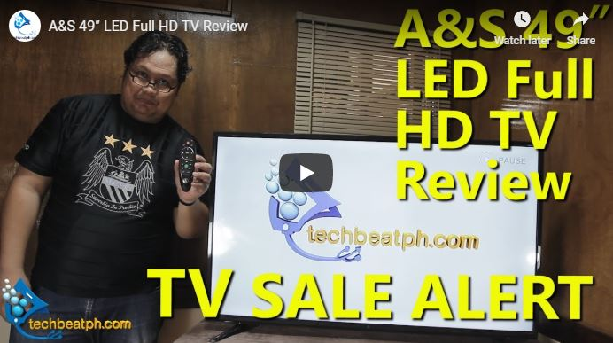 A&S 49″ LED Full HD TV Review