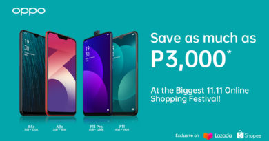 Up to 25% off on select OPPO smartphones on annual 11.11 Online Shopping Festival