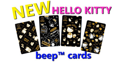These Limited Edition Hello Kitty Beep Cards are just too Kawaii (Cute)
