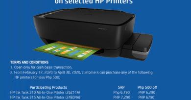 Enjoy P500 savings when you buy HP Ink Tank printers
