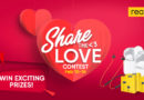 realme invites fans to #ShareTheLovein its Valentine's Day Promo