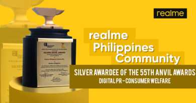 realme Philippines Facebook Community wins Silver  at 55th Anvil Awards