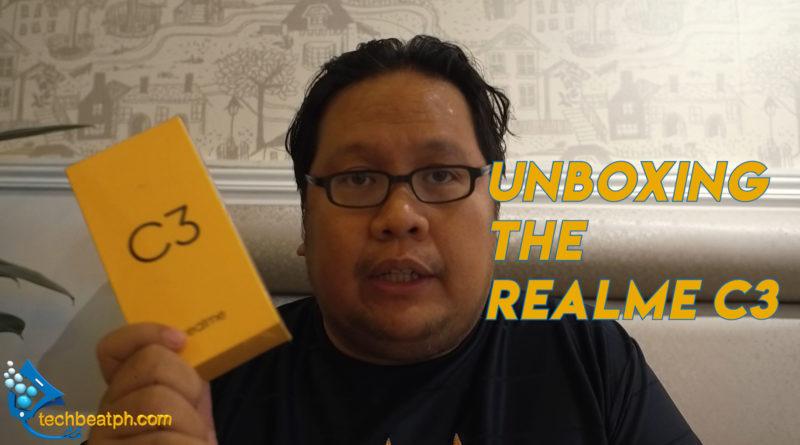 We Unbox the realme C3