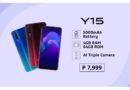 What the Vivo Y15 offers for just 7,999 pesos