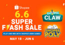Play Hard & Win Big: Shopee 6.6 Super Flash Sale with new App Game