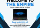 "Lenovo Legion Launches ""The Empire"""