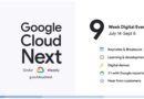 Google Kicks Off of Next OnAir 2020