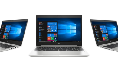 Go pro with HP ProBook 400 series laptops' enhanced security features and durability