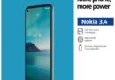 Nokia is exclusively launching Nokia 3.4 on Shopee from November 30 – December 6