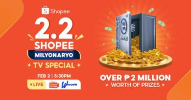 Win Over ₱2M Worth of Prizes during Shopee's 2.2 TV Special