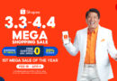 Shopee Launches 3.3 and 4.4 Mega Sale