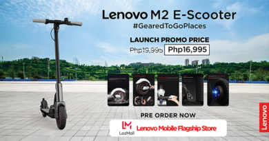 Be geared to go places with Lenovo's new M2 Electric Scooter