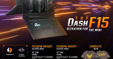 Pre-Order Up for ASUS TUF DASH F15 WITH RTX™ 3060